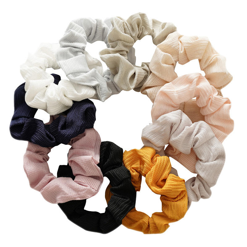 Cool Elastic Girl Long Ribbon Bow-Knot Hair Ties Band Ropes-Ponytail/&Holder best