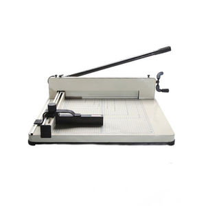 858A3 Heavy Duty Manual Guillotine Paper Cutter manual steel paper cutter