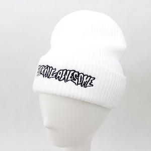 Unisex Cotton Knit Embroidery Winter Custom Beanie Hats