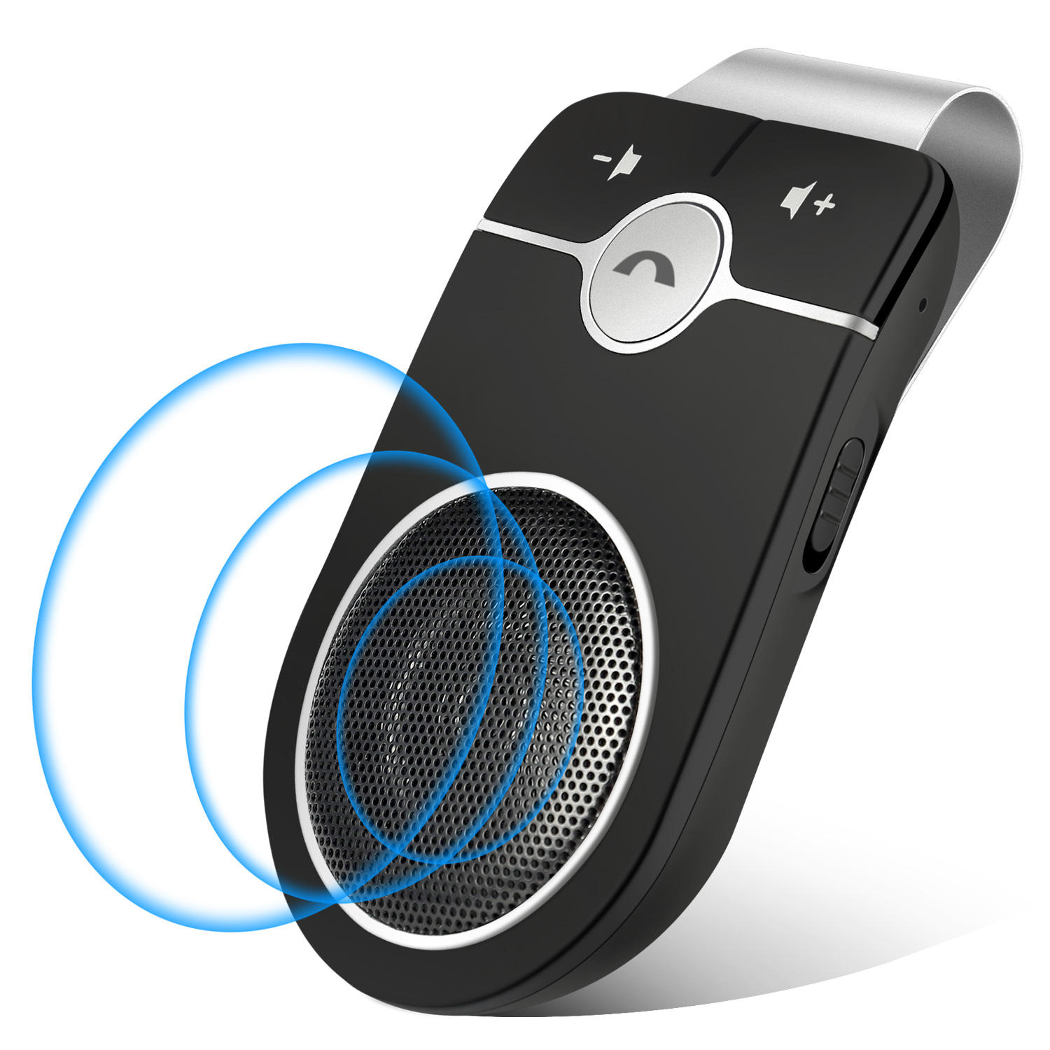 Car speaker multipoint speakerphone manos libres bluetooth para celular dsp technology Bluetooth handsfree car kit with Siri