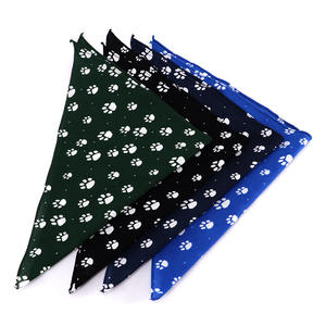 Wholesale Custom Printed Cotton Pet Dog and Cat Bandana Scarf
