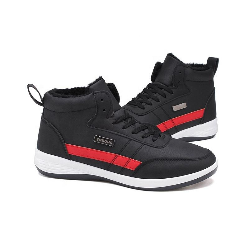Attractive style lace-up brand fashion men running cricket new sport shoes