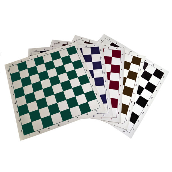 quality vinyl chess board game
