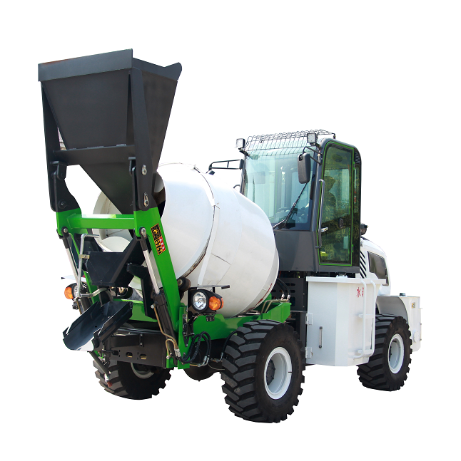 diesel concrete mixer with pump/mobile concrete mixer