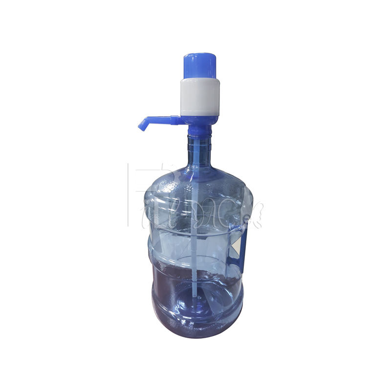 manual portable gallon bucket / barrel drinking water pump / pumping machine / equipment / system / unit / device