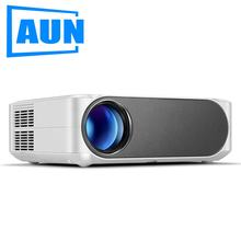 AUN Full HD Projector AKEY6, 1920x1080P, 6,800 Lumens, Support AC3 File Decoding, LED Projector for 3D Home Theater