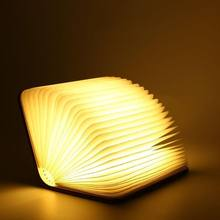 Mini folding led book lamp promotional novelty premium gifts items