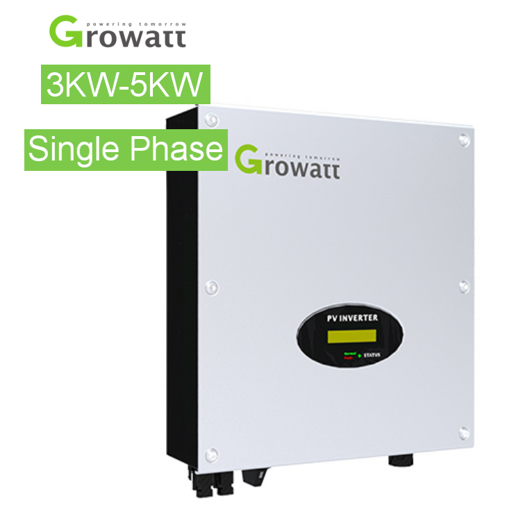 Growatt 3kw 5kw solar inverter 50hz 60hz 3kva Single Phase inverters 2 MPPT 3000MTL-S 5kw 220v 3000w grid tie inverter