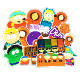 15pcs/bag South Park cute cartoon waterproof PVC sticker vinyl removable sticker laptop/kettle/mug/mobile phone/luggage stickers