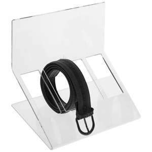 De Beste En Goedkoopste Acryl Riem Hanger Rack Holder Riem Tie Display Rack Acryl Riem Display Stand