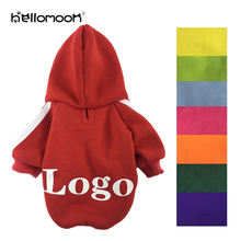 Hellomoon LOGO Customization Cotton Large Dog Custom Blank Dog Hoodie