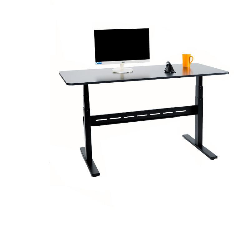Patas de metal tablas de elevación para el estudio, oficina y el ordenador, manual y ajustable de la altura eléctrica