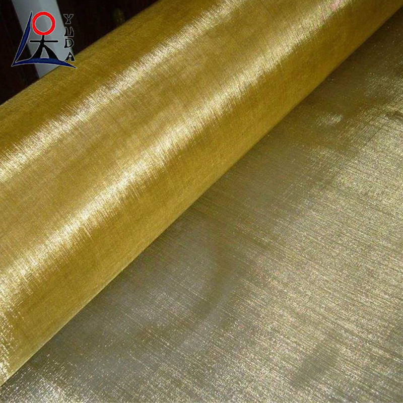 Wholesale RFID blocking fabric copper conductive fabric / Brass Wire filter mesh