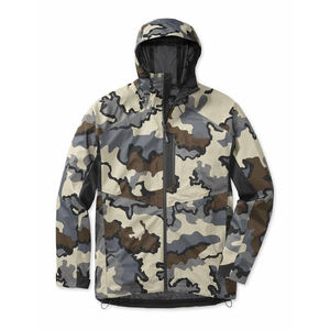 Custom Men Waterproof Breathable Camouflage Fishing Rain Jacket Outdoor Camo Hunting Jacket