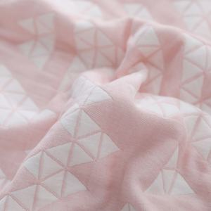 Wholesale custom 100% cotton linen bed sheets baby heart bedding set