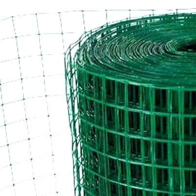green pvc coated welded wire mesh fencing, Holland wire mesh
