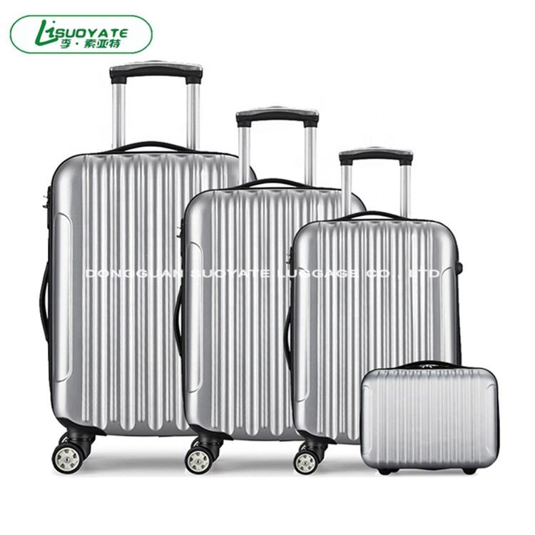 20/24/28 Inch 3 Pieces in 1 Set Classical ABS Trolley Luggage Suitcase from Professional Factory (A0001)