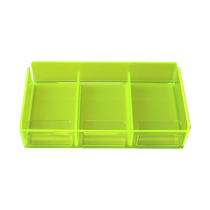 Acrylic Display Seperate Risers 3-Pack Golden Color