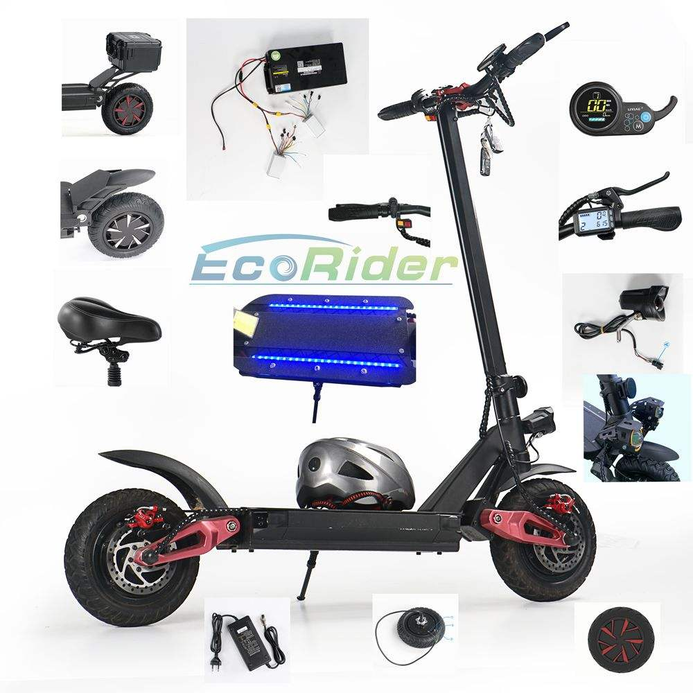 Ecorider E4-9 Factory wholesale electric scooter spare parts and accessories,electric scooter body frame parts