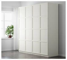 White closet organizer with drawers /shelving ready made closet systems