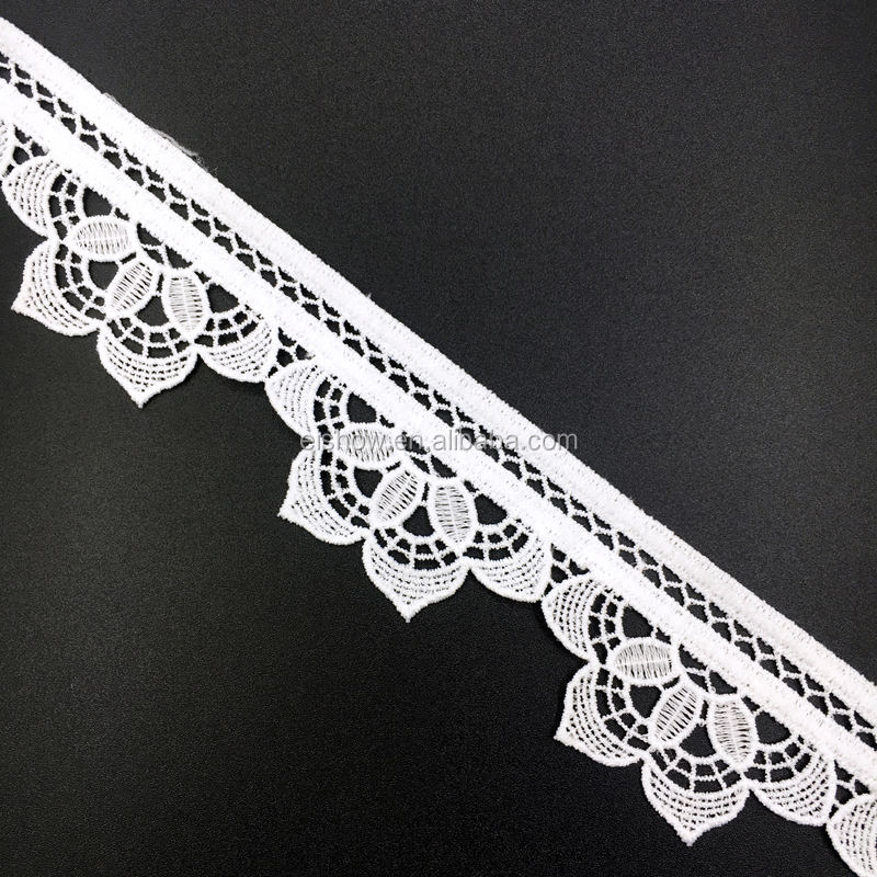 4cm fancy embroidery floral lace trim for Table Tops, Card Boxes, Gift, Sewing, Baby Shower.