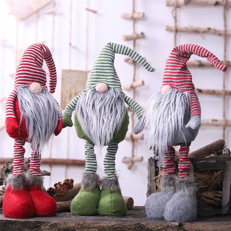 2019 Hot sale christmas gnome ornaments gifts for children merry christmas dolls
