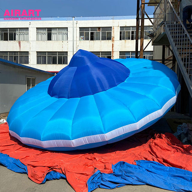 2020 Giant 6m Inflatable Alien Flying Saucer, Inflatable UFO Model For Science Show