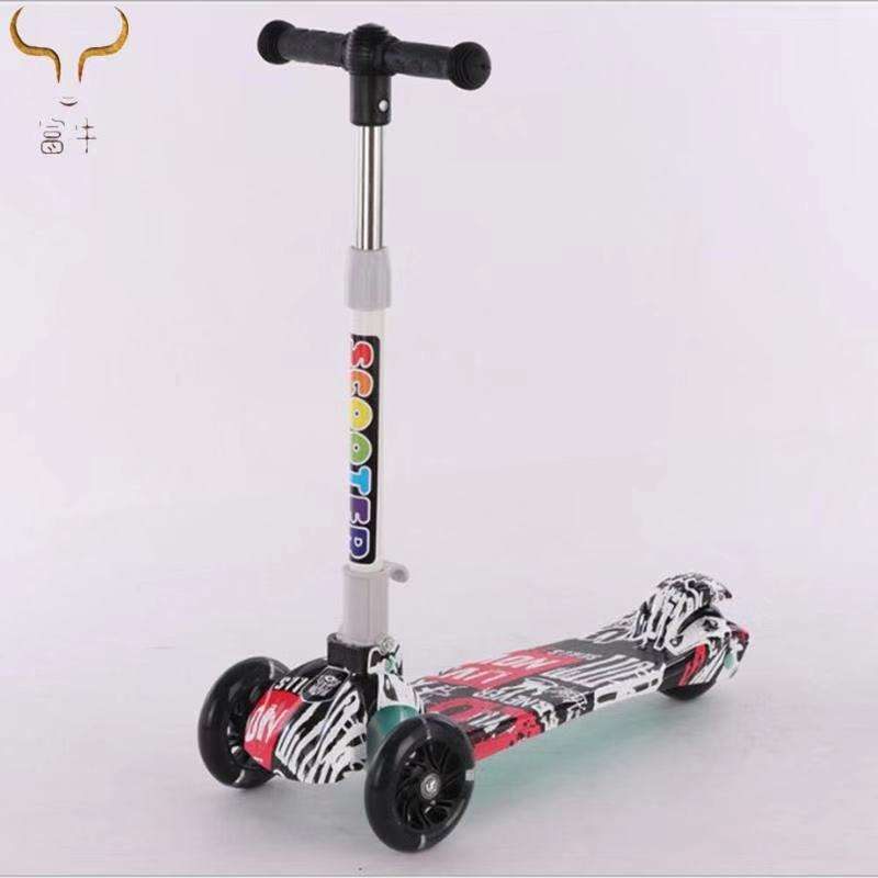Manufacturers Direct Children With Multifunctional Music Scooter 3-8 Years Old Universal Skateboard