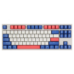Ducky White Upper And Red Lower Cover Keyboard Light Keyboard Hot Swap