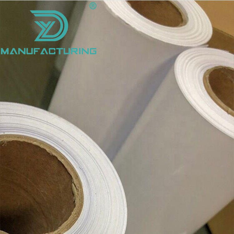 Guangzhou market supermarket promotional poster printing roll up pp synthetic paper