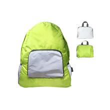 Lightweight Reflective pockets folding ripstop Backpack