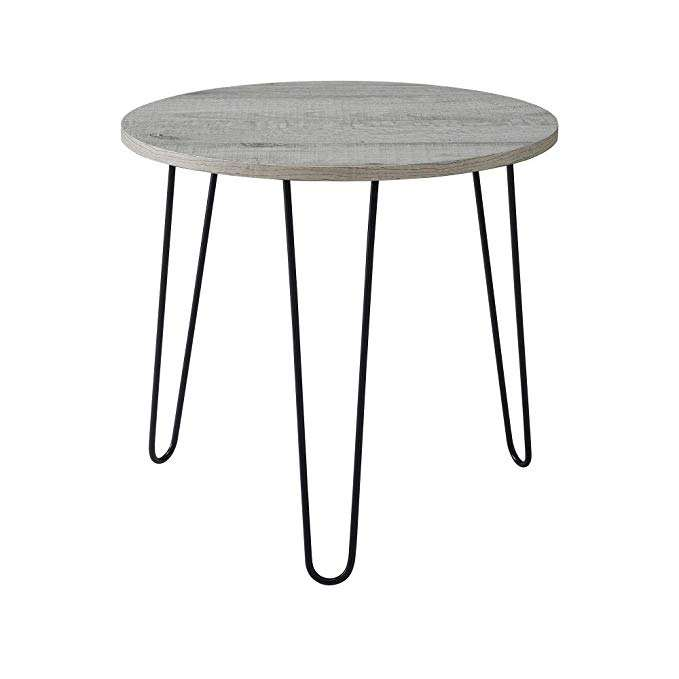 metal wood side table modern coffee table with SGS certificate