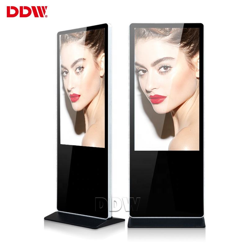 Hot Reclame Apparatuur 43 Inch 3G 4G Standalone Reclame Indoor Lcd Digital Signage Speler Board Led Display Scherm