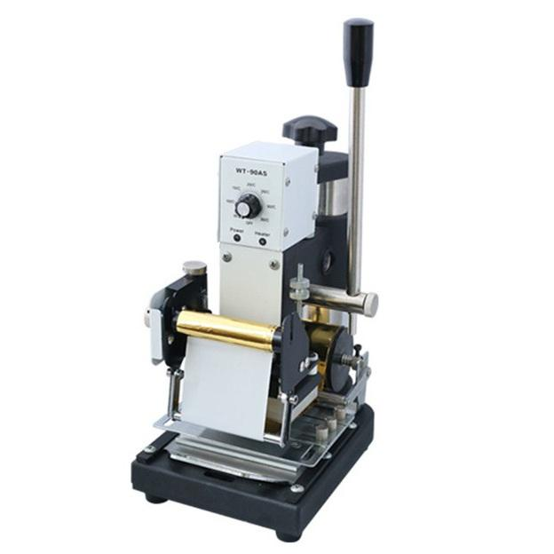 Manual Hot Foil Metal Hot Press Golden Stamping Machine ( WT-90AS /5X7/S)
