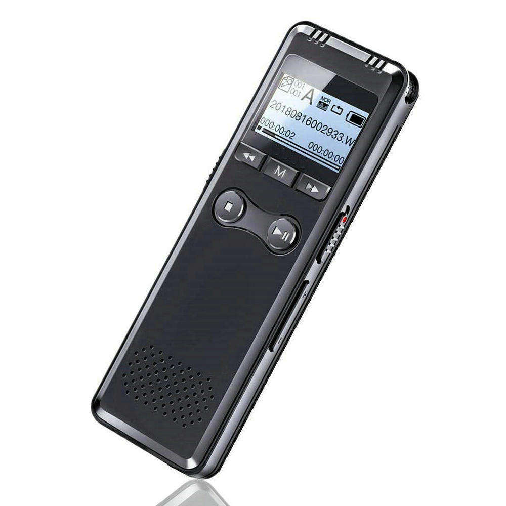 V30 Black 8GB 8G Mini USB Flash Digital Audio Voice Recorder 650Hr Dictaphone MP3 Player Record