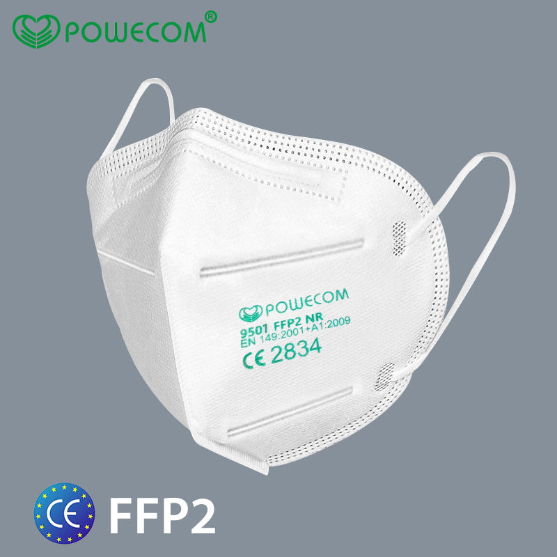 FFP2 Protect Level KN95 Mask With CE 2823 Certificate Folding Particulate Respirator Dust Mask Mascarillas