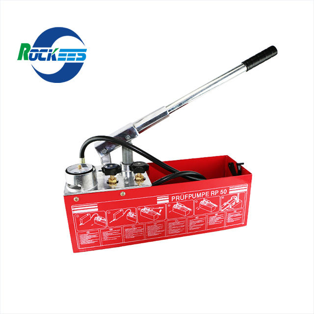 0-50 PPR PE Bar Cheaper Stable Steel Manual Hydrostatic Test Pump