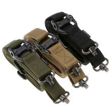 Hunting Tactical Airsoft Rifle Gun Sling Strap Quick Detach QD Swivel Dual Two 2 Points Gun Sling Shooting Outdoor Accessories