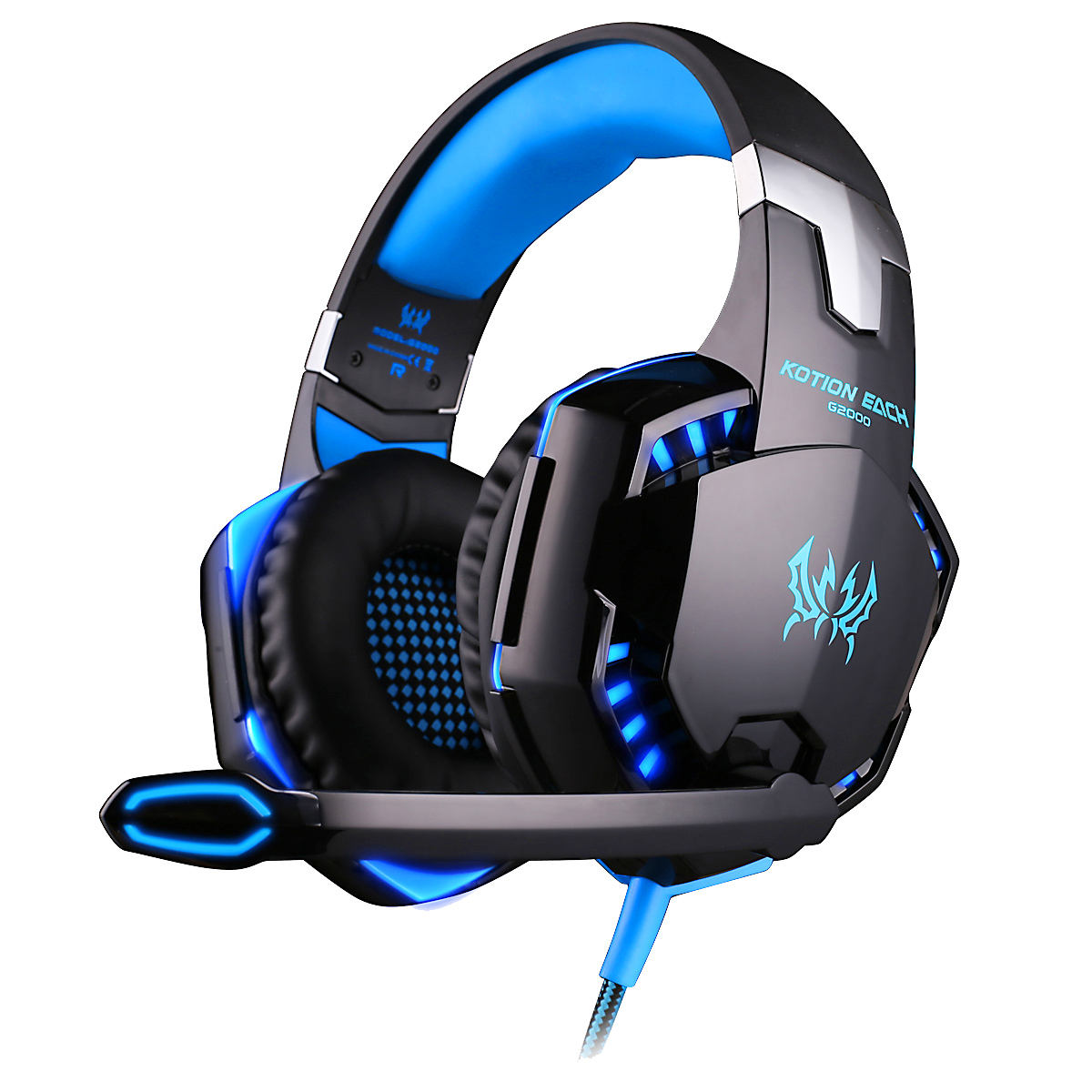 Factory Direct kotion each G2000 Wired Gaming Headset 3.5mm Stereo Surround Sound PC Earphone Game
