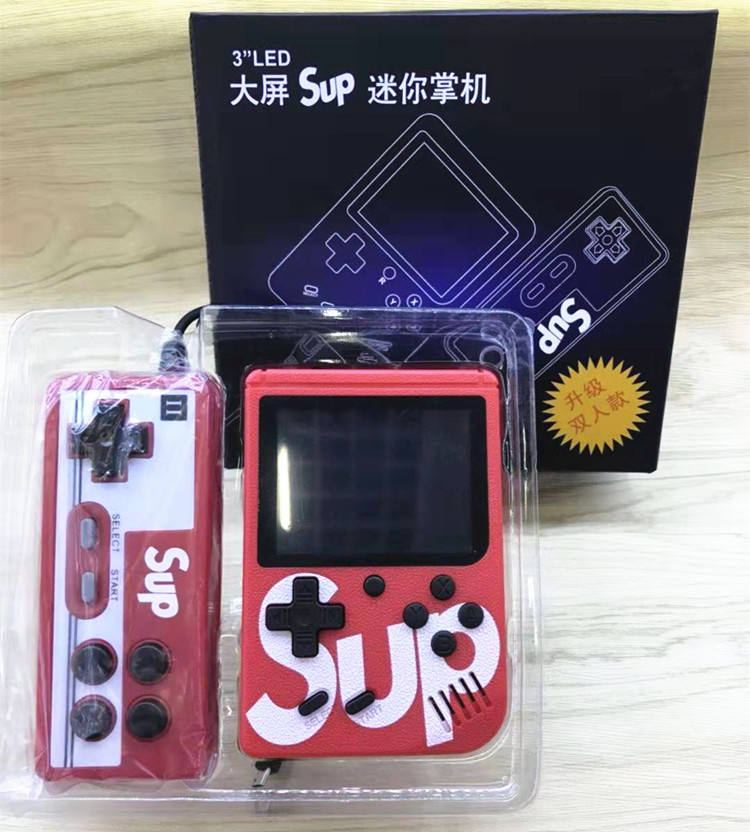 Retro Mini Handheld sup 400 Games Handheld Console with controller