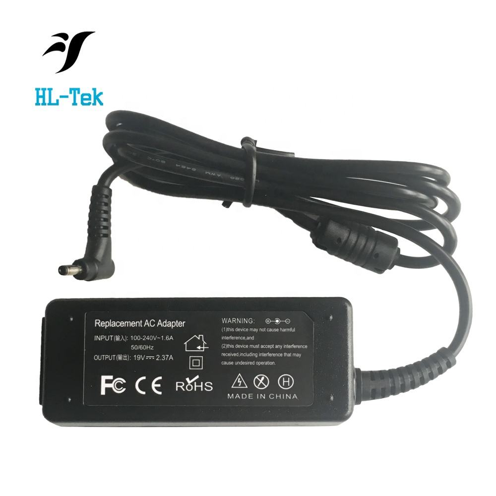 40W ac מתאם עבור ASUS Eee PC 1005pe 1005hab 1008P 1008PB 1011PX 1015P 1016PT 1018P 1104HA 1106HA 1215N <span class=keywords><strong>netbook</strong></span> כוח מטען