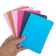 Wholesale fashion cross grain pu leather blank passport holder for DIY