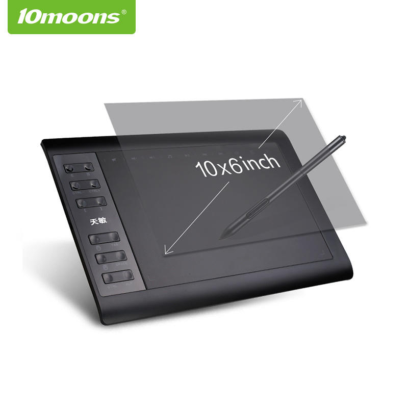 Hot Sale 1060P Professional Digital Pen Design Digital Graphic Tablet