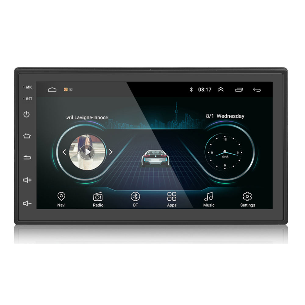 Double Din Autoradio Play 7นิ้วTouch Screen 2 Din GPS 1 + 16G Universal Player Androidรถวิทยุ