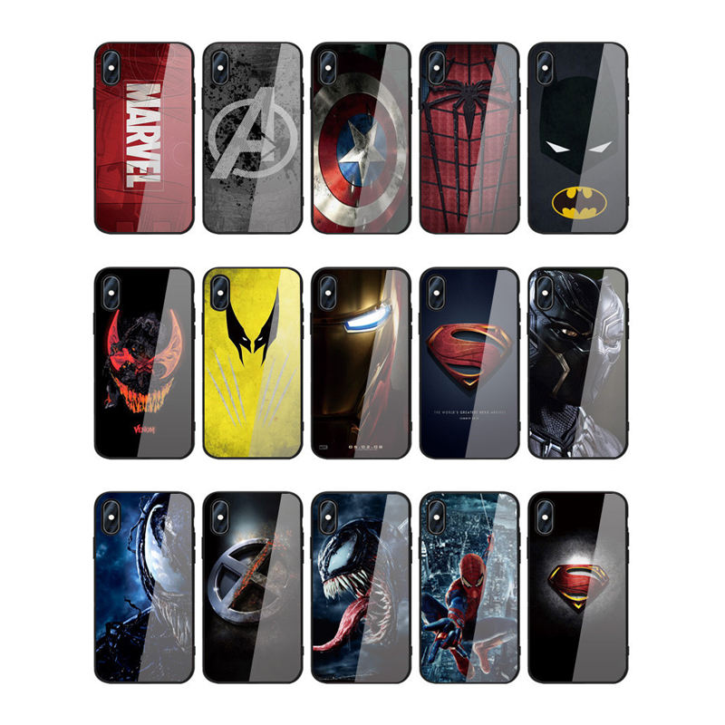 Custom Logo Private Label Tup Cartoon En Super Hero Ontwerp Telefoon Case Voor Iphone 12 Pro Max Custom Case