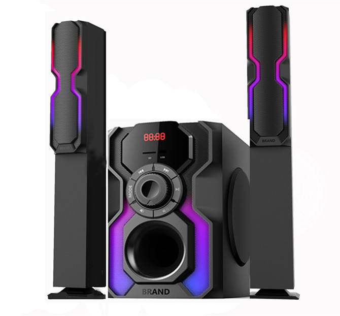 Multimedia 2.1 subwoofer Tower speaker home theater system
