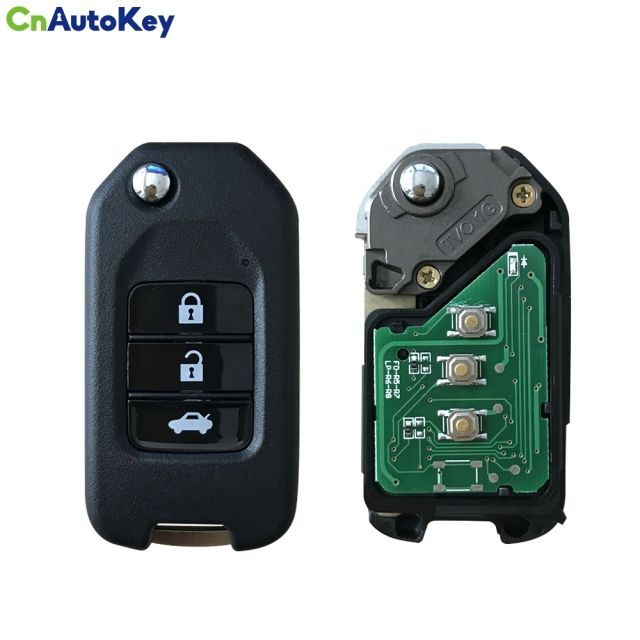 CN003075 remote car key for 2016 CIVIC City Fit XRV Vezel 3 buttons 433mhz with G Chip