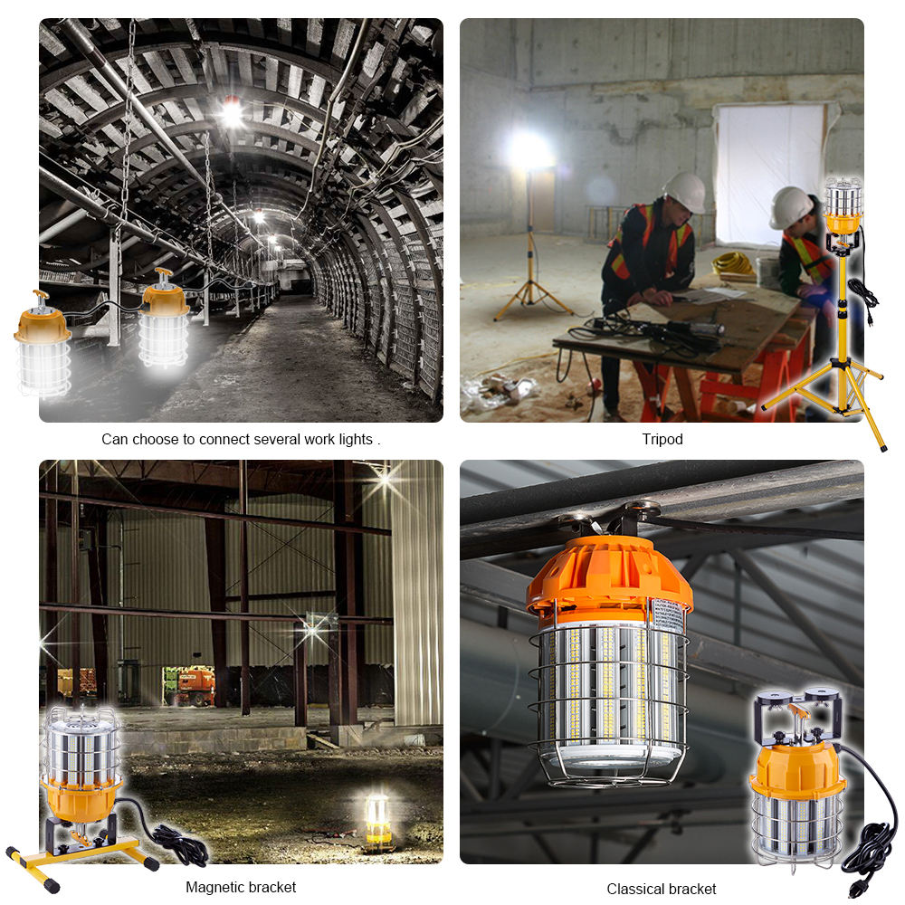 New Products Portable Site Lighting IP65 60W 100W 150W Temporary LED Work Light