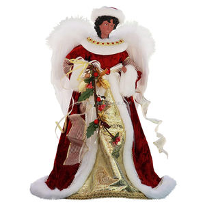 40cm Christmas angel ornaments decorations tree figurine collection doll xmas festival display party decoration for home