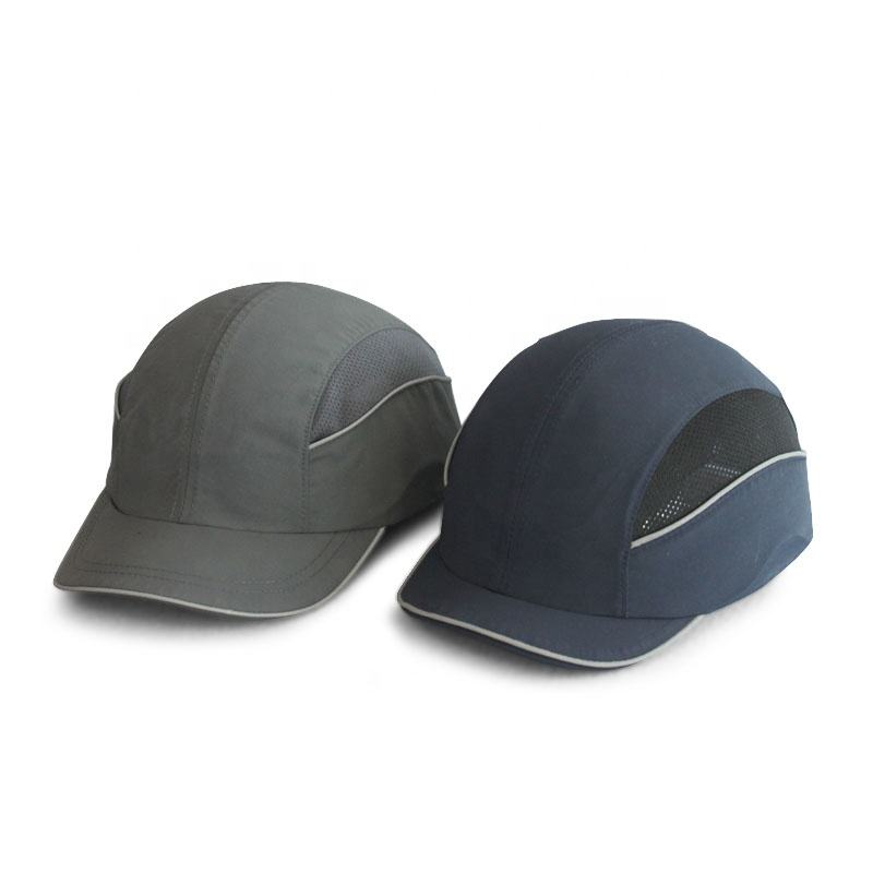 Head Protective ABS Plastic Shell EVA Pad Helmet Insert Baseball Safety Bump Cap Breathable